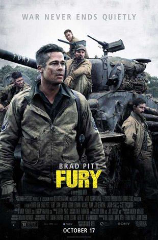 fury movie poster 2014 1020770904 - Interview - Jon Bernthal