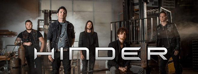 hinder 2017 slide - Interview - Marshal Dutton of Hinder