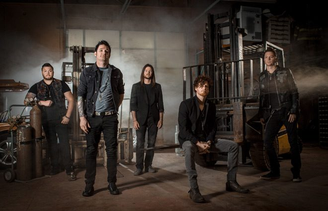hinder promo - Hinder - The Reign (Album Review)