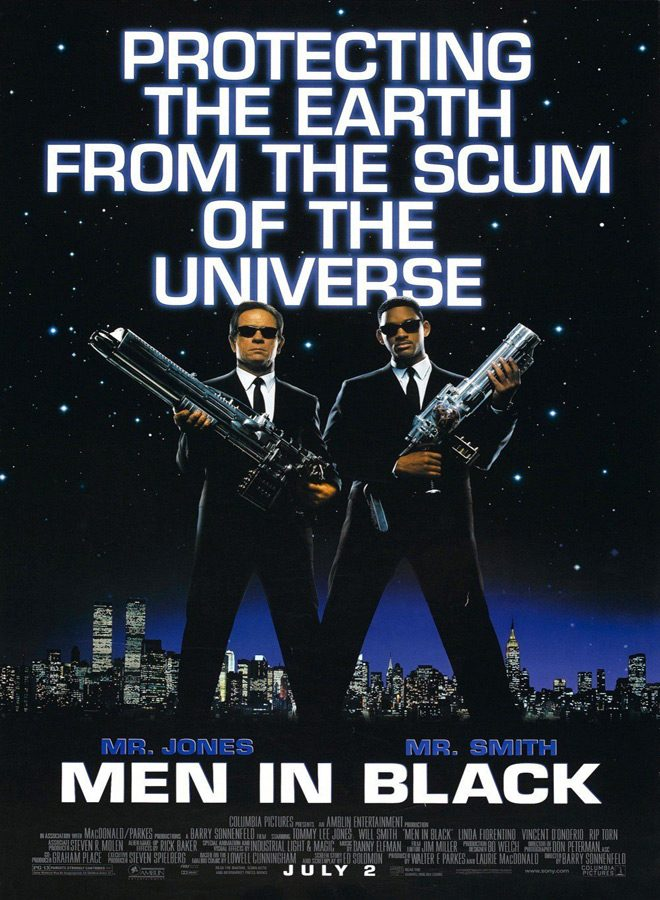mib poster - Men in Black - Something You Remember 20 Years Later
