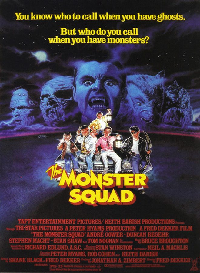 monster poster Copy - The Monster Squad - A Monsterously Good Time 30 Years Later