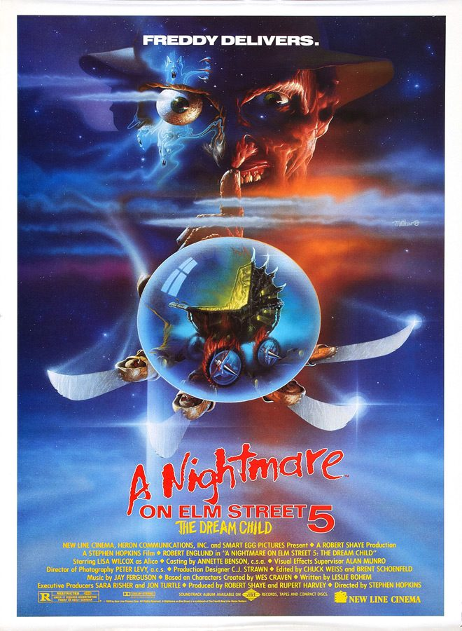 nightmare 5 poster - This Week In Horror Movie History - A Nightmare On Elm Street 5: The Dream Child (1989)