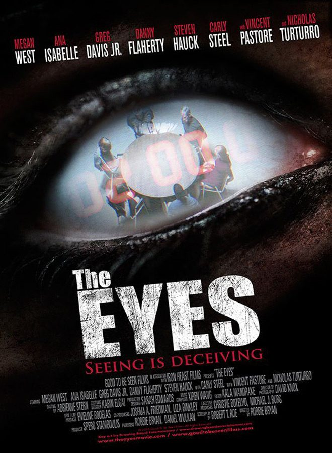 the eyes poster - The Eyes (Movie Review)