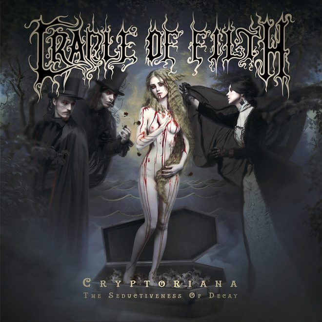Cradle Of Filth Cryptoriana The Seductiveness Of Decay Artwork - Cradle of Filth - Cryptoriana – The Seductiveness of Decay (Album Review)