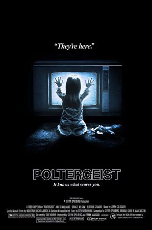 Poltergeist 1982 movie poster 1 - Tobe Hooper - The Man Behind The Saw