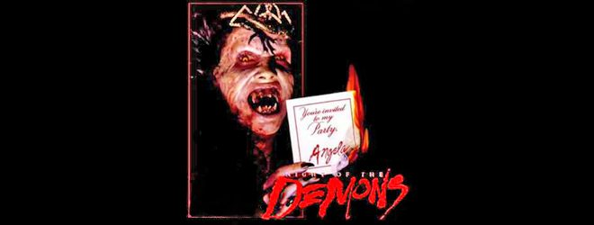 night of demon big slide - This Week in Horror Movie History - Night of the Demons (1988)