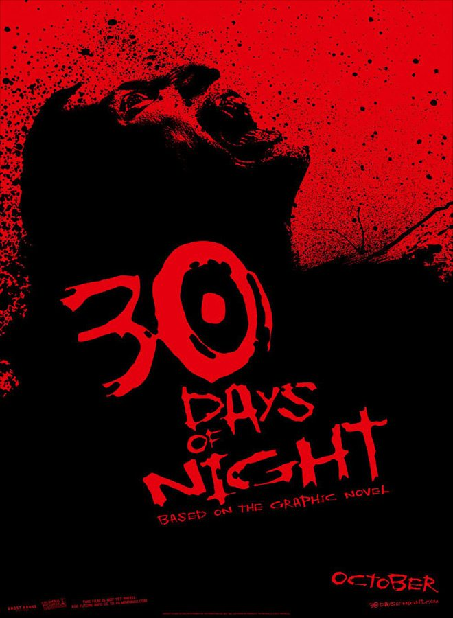 30 poster - 30 Days of Night - Wreaking Terror 10 years Later