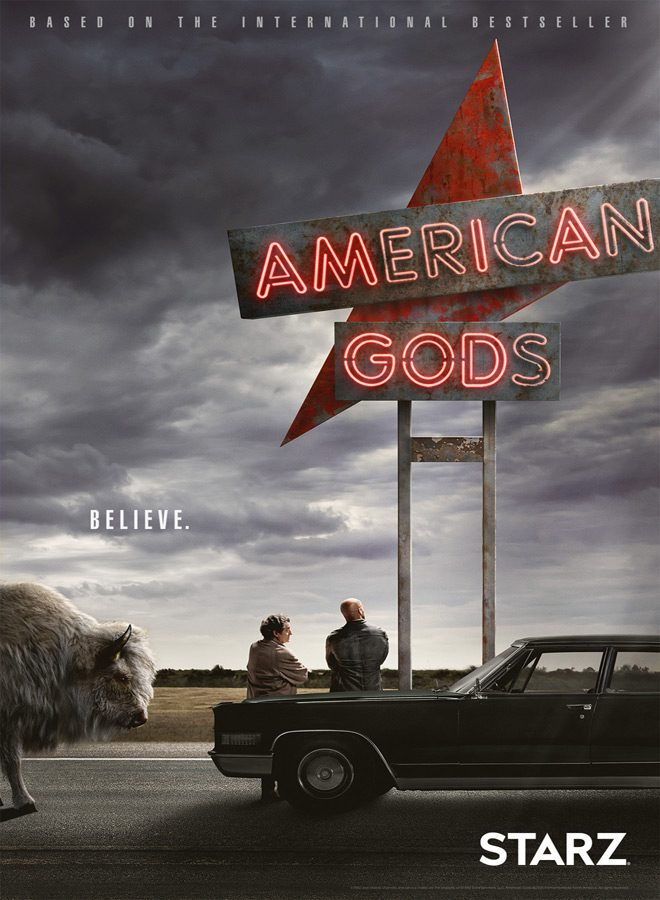 gods poster - American Gods (Season 1 Review)