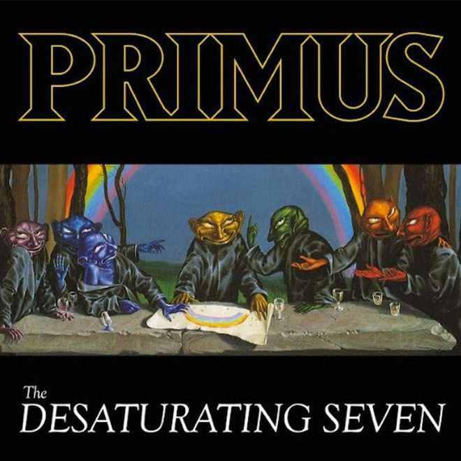 prims album cover - Primus - The Desaturating Seven (Album Review)