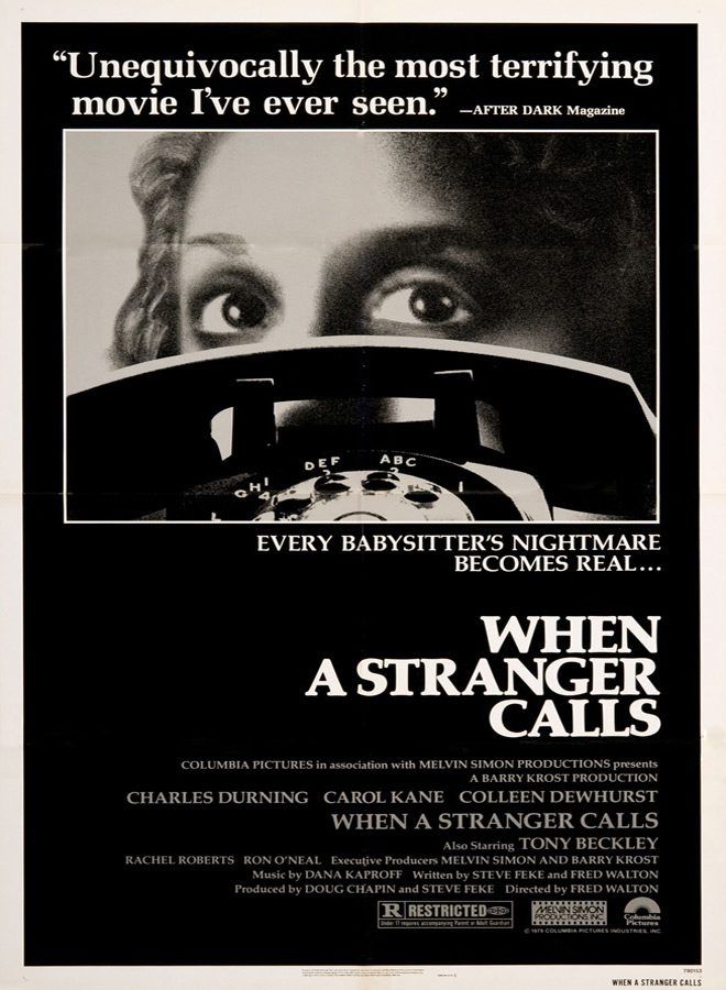 stranger poster 2 - This Week in Horror Movie History - When a Stranger Calls (1979)