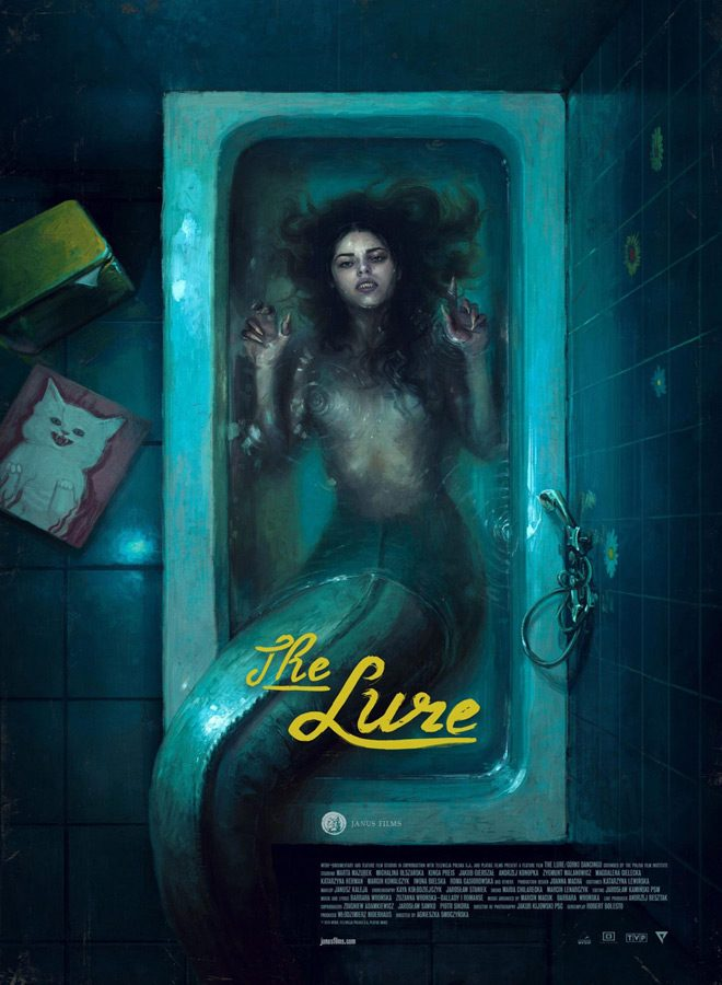 the lure poster - The Lure (Movie Review)