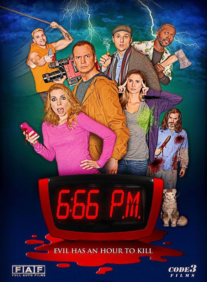 666 PM Movie Poster Jim Klock - 6:66 PM (Movie Review)