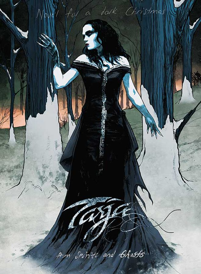 Novel Cover - Interview - Tarja Turunen Talks From Spirits And Ghosts