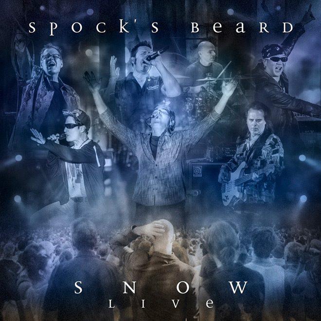 SnowLive Cover - Spock's Beard - Snow Live (Live Album Review)