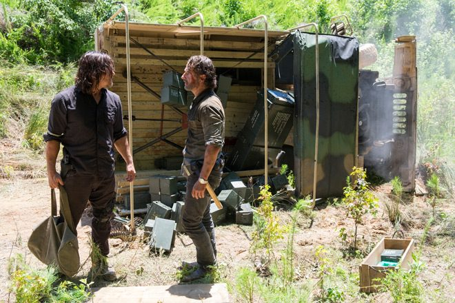TWD 805 2 - The Walking Dead - The Big Scary U (Season 8/ Episode 5 Review)
