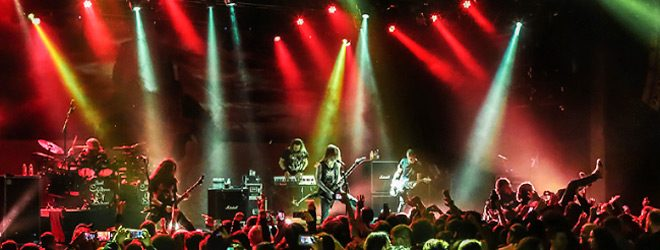 bodom live 2017 - Children of Bodom Bring 20 Year Celebration To NYC 11-24-17