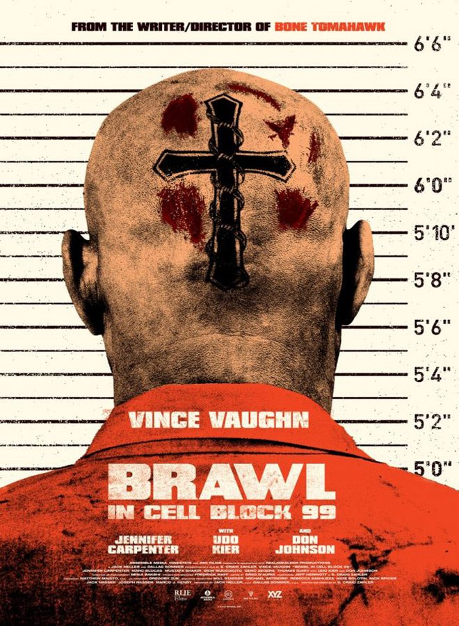 brawl poster - Brawl in Cell Block 99 (Movie Review)