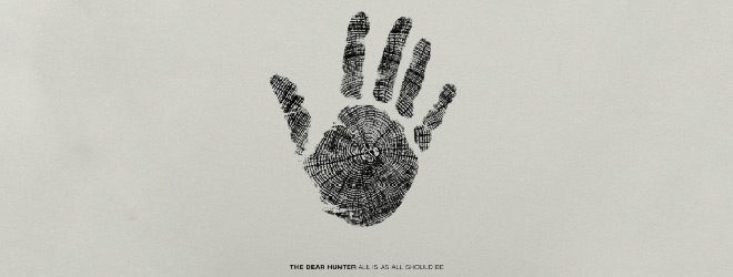 dear slide - The Dear Hunter - All Is As All Should Be (EP Review)