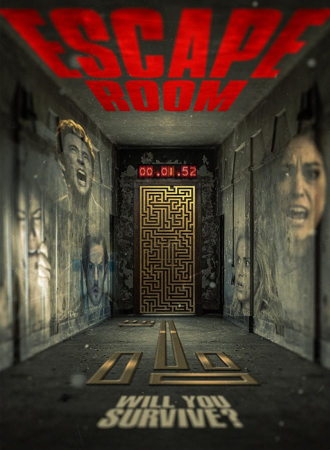 escape room 2017 poster - Escape Room (Movie Review)