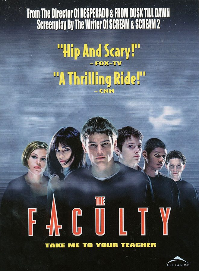 faculty poster - This Week In Horror Movie History - The Faculty (1998)