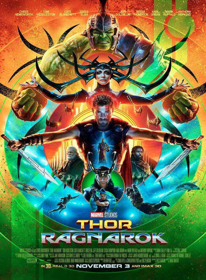 thor ragnarok poster main - Thor: Ragnarok (Movie Review)