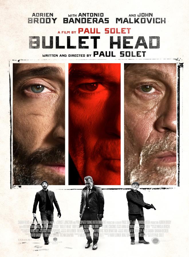 BULLET HEAD Poster - Bullet Head (Movie Review)