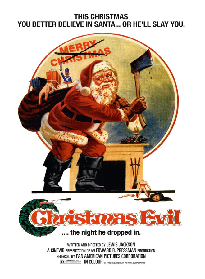 Christmas Evil Original Poster - Christmas Terror - 10 Horror-themed Christmas Flicks Worth Unwrapping