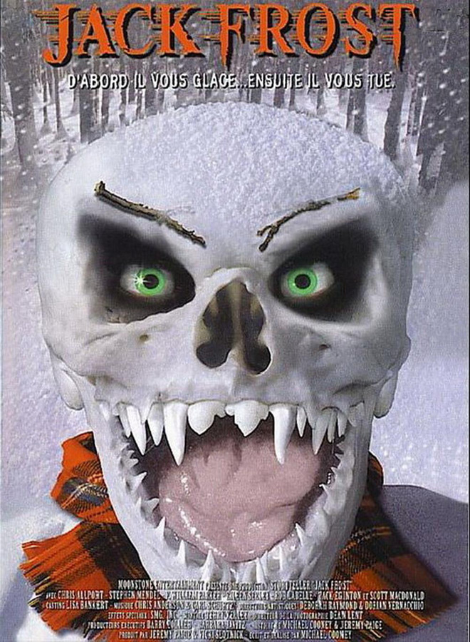 Jack Frost 1997 poster - Christmas Terror - 10 Horror-themed Christmas Flicks Worth Unwrapping