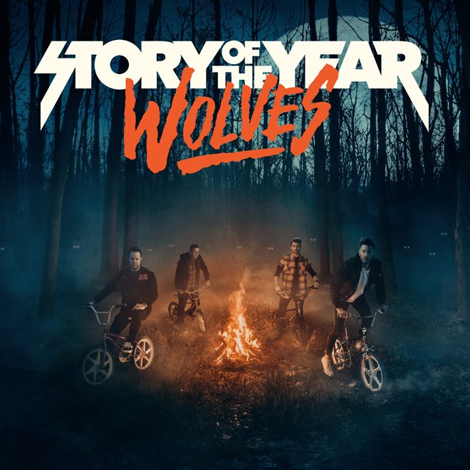 SOTY Wolves Cover square HI Res - Story Of The Year - Wolves (Album Review)