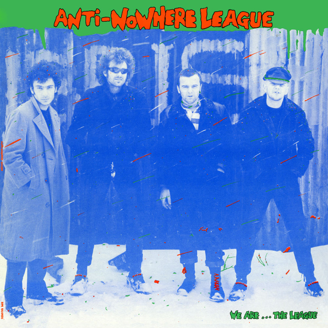 anti album - Anti-Nowhere League - We Are…The League 35 Years Later
