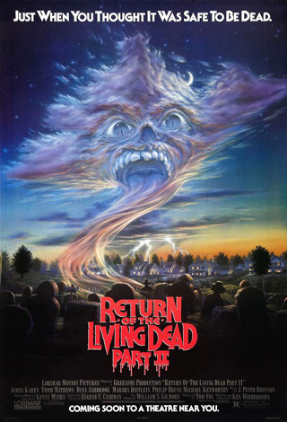 return of living dead 2 poster - Interview - Thom Mathews