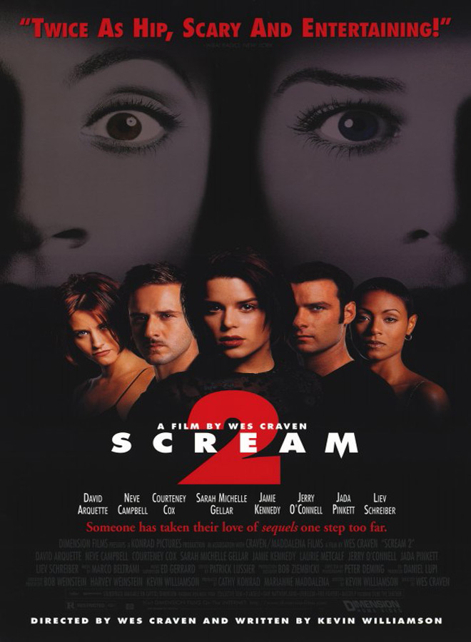 sceam 2 poster - Scream 2 Turns 20