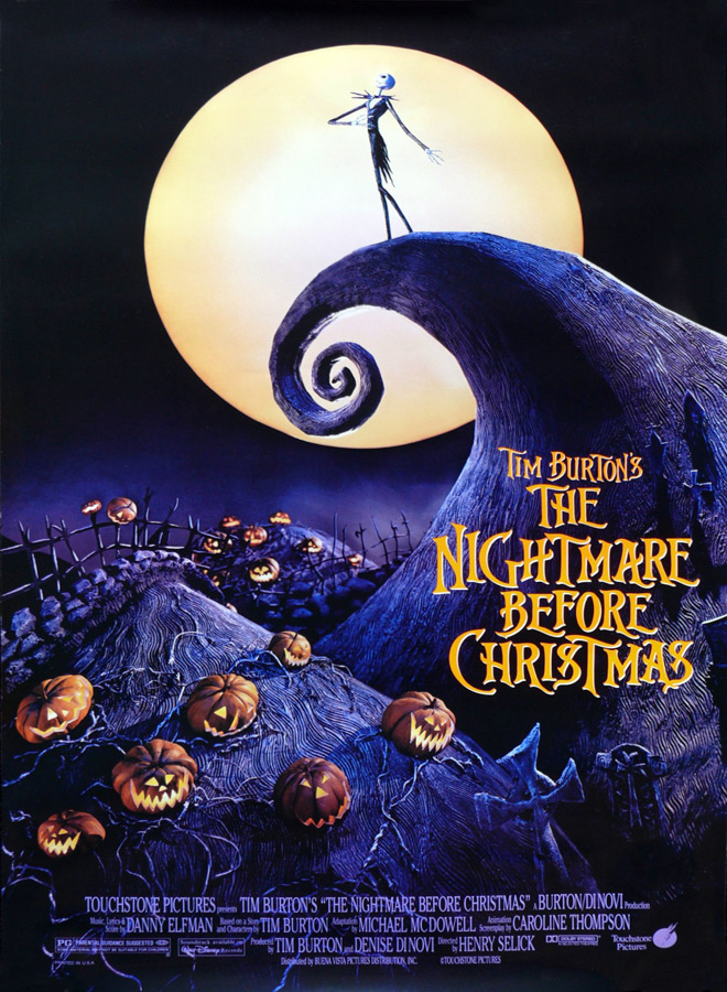the nightmare before christmas movie poster 1993 - Christmas Terror - 10 Horror-themed Christmas Flicks Worth Unwrapping