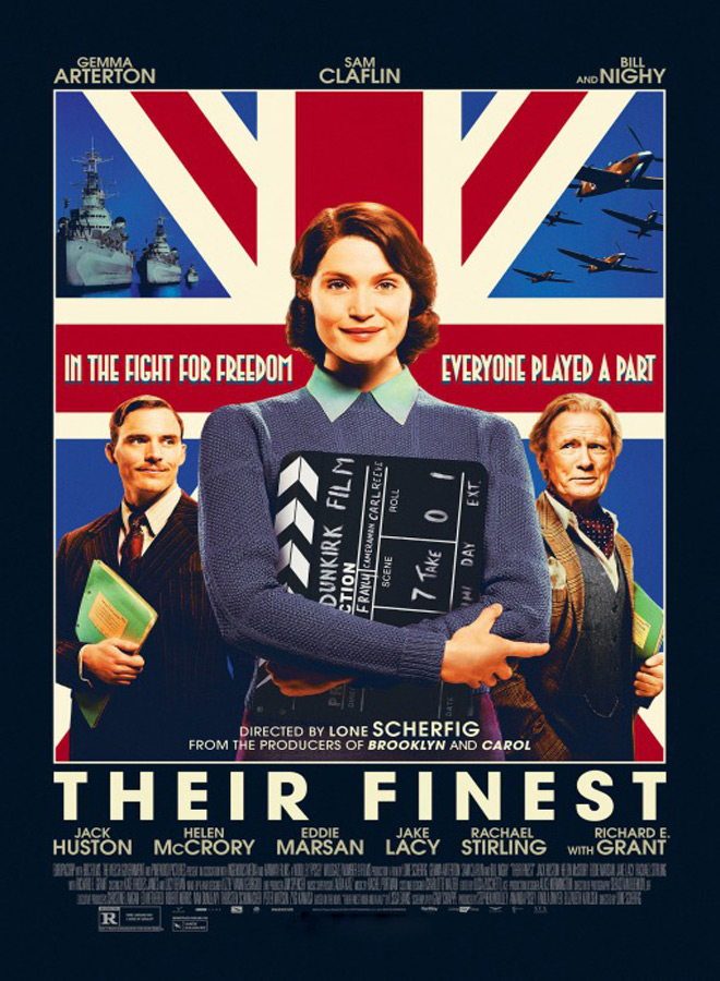 their finest poster - Their Finest (Movie Review)