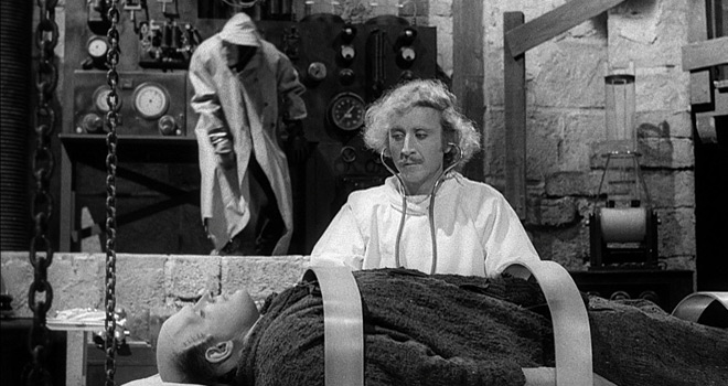 young 2 - This Week In Horror Movie History - Young Frankenstein (1974)