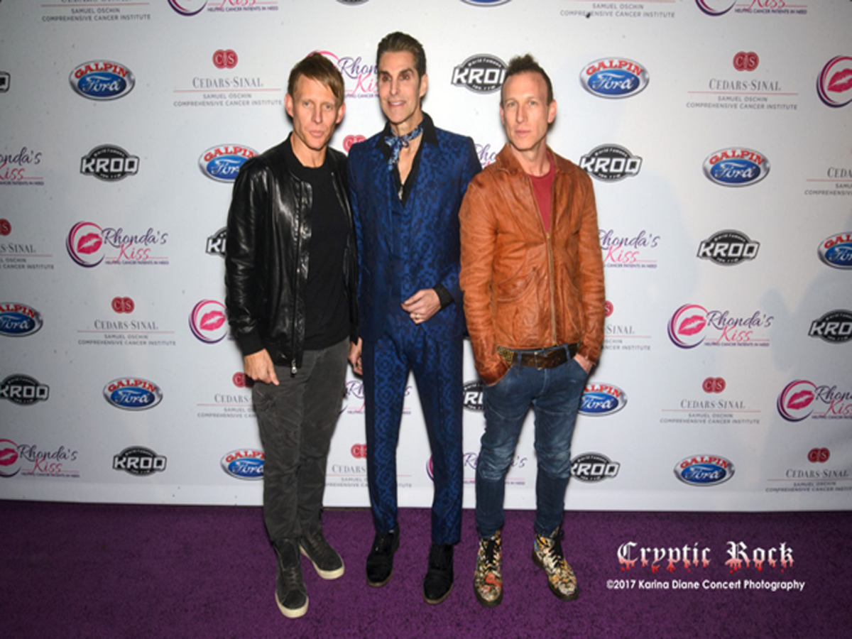 Perry Farrell, Chris Chaney _ Stephen Perkins of Jane_s Addiction
