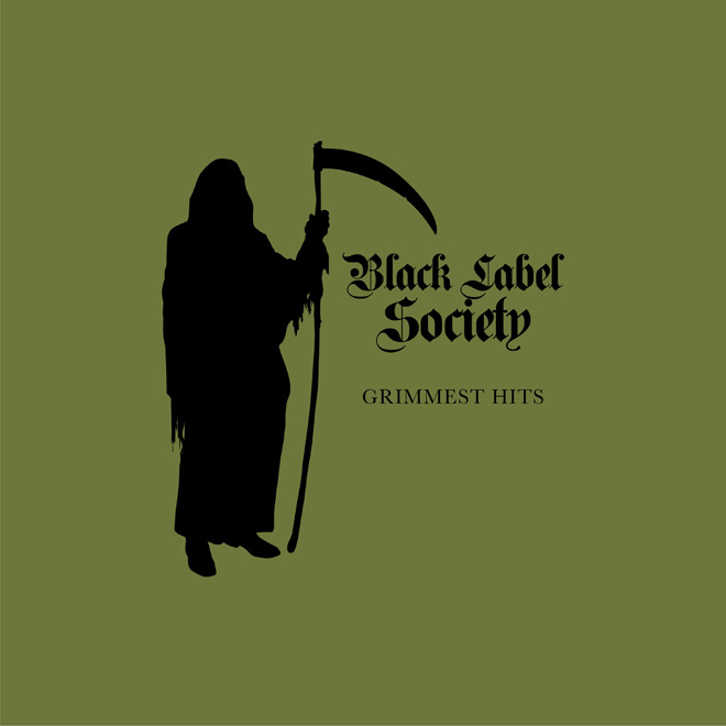 BLS GrimmestHits cover - Black Label Society - Grimmest Hits (Album Review)