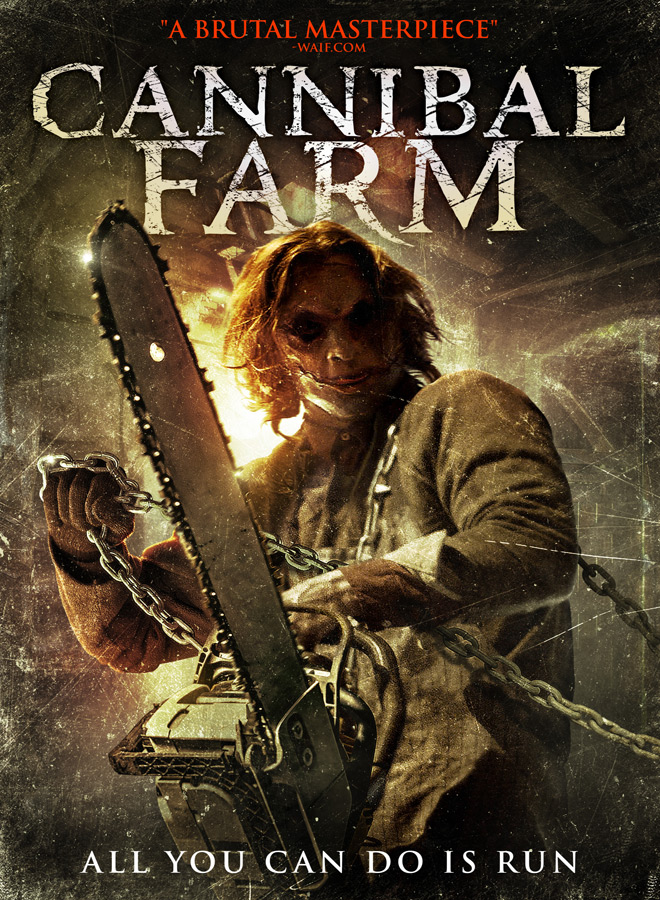 Cannibal Farm Key Art - Cannibal Farm (Movie Review)