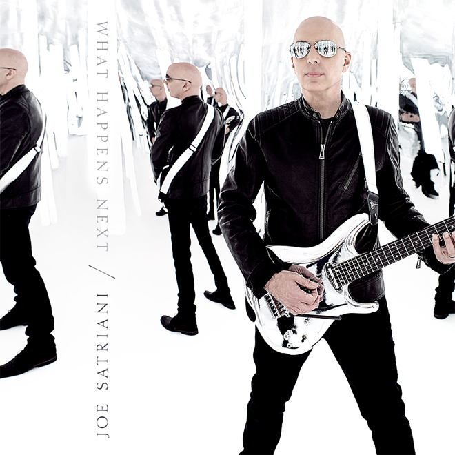 What Happens Next cover - Joe Satriani - What Happens Next (Album Review)