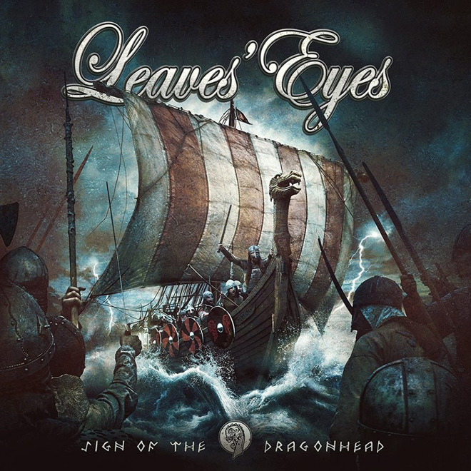 leaves eyes album - Leaves' Eyes - Sign of the Dragonhead (Album Review)