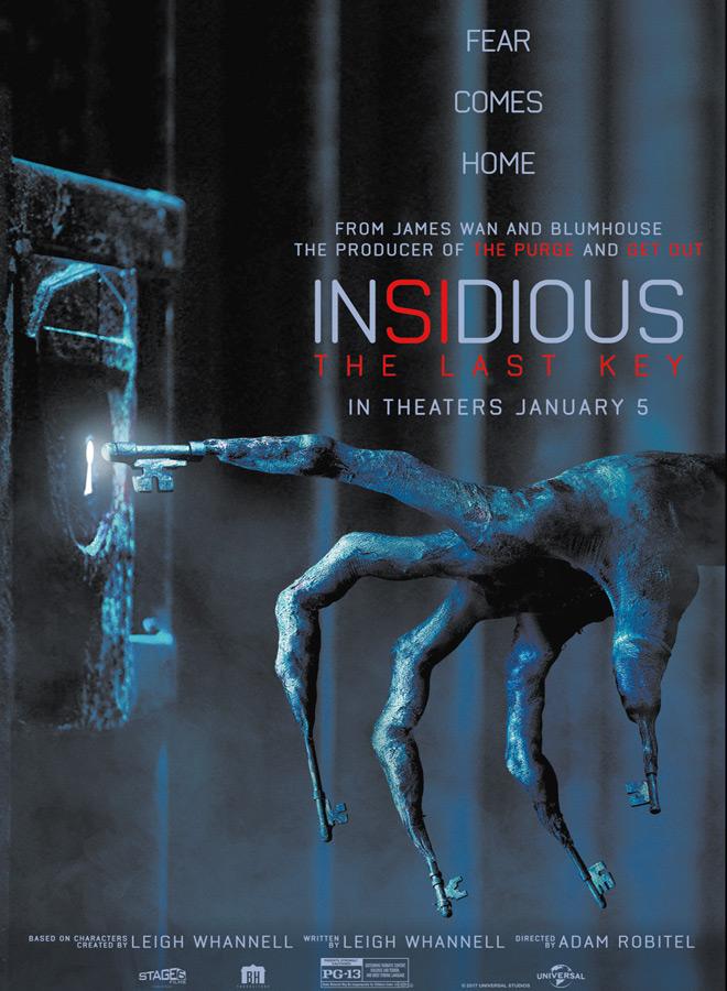 lin 9 - Insidious: The Last Key (Movie Review)