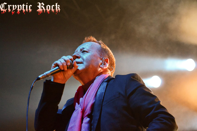 simple minds live 2 - Interview - Jim Kerr of Simple Minds