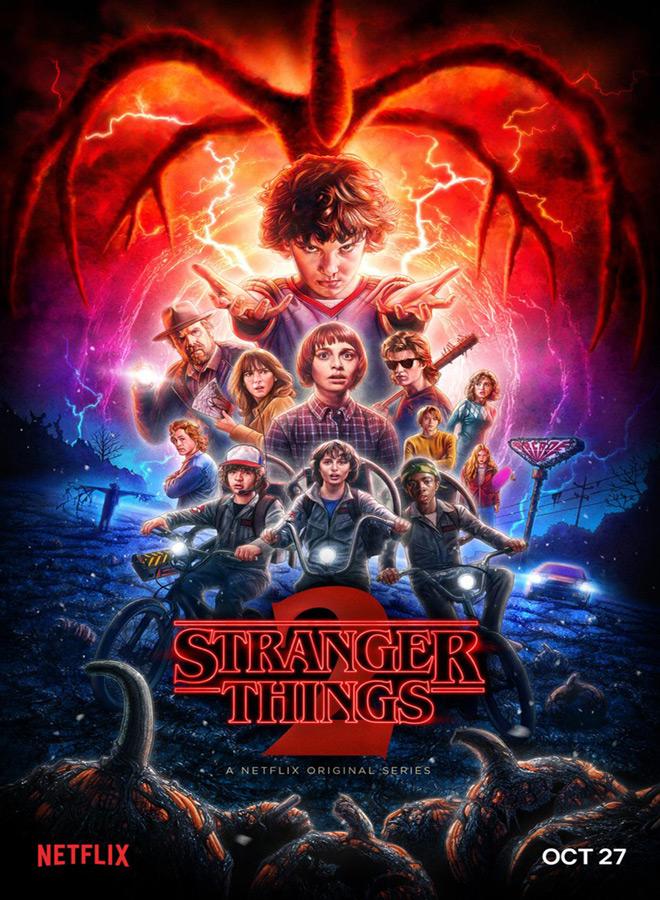 stranger things poster 1 - Stranger Things (Season 2 Review)