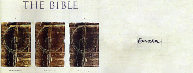 bible slide - The Bible - Eureka Three Decades Later