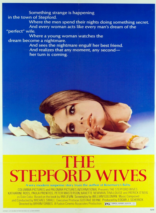 step poster - This Week In Horror Movie History - The Stepford Wives (1975)