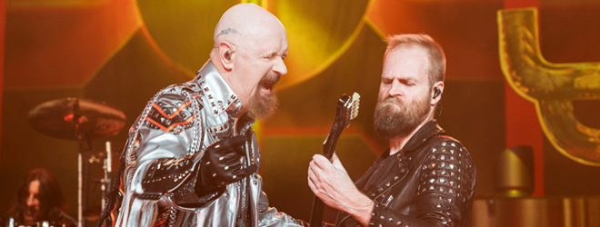 Judas Priest 2018 live slide - Judas Priest Fire Up Long Island, NY 3-17-18 w/ Saxon & Black Star Riders