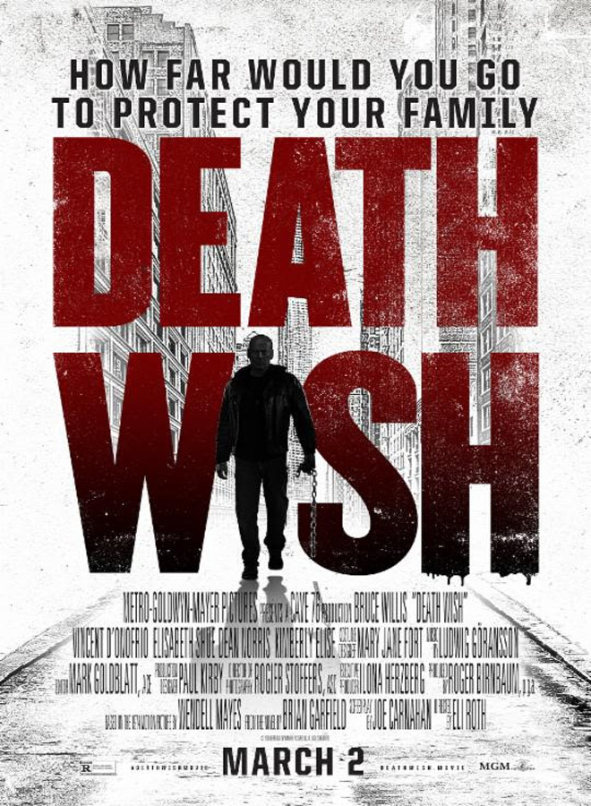 death wish poster - Death Wish (Movie Review)