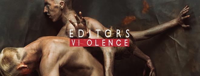 editors slide - Editors - Violence (Album Review)