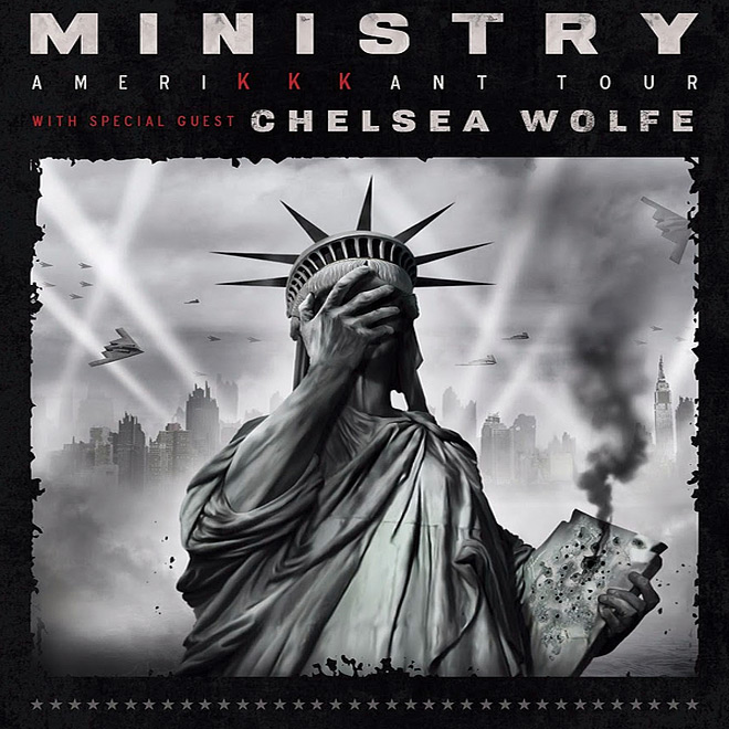 ministry tour 2018 - Interview - Tony Campos of Ministry