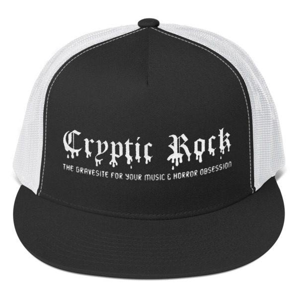 mockup 59bc34cd 600x600 - CRYPTICROCK BLACK & WHITE TRUCKER CAP